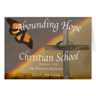Abounding Hope 15:13 Card