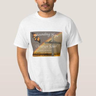 Abounding Hope Christian School Adult T Shirt