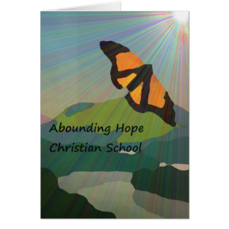 Abounding Hope Christian School Card