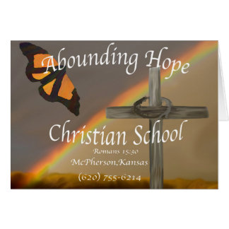 Abounding Hope Christian School Note Cards