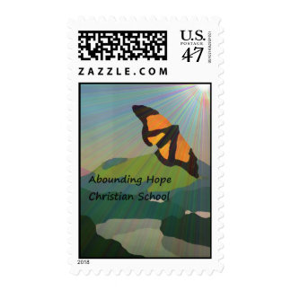 Abounding Hope Christian School Postage Stamp