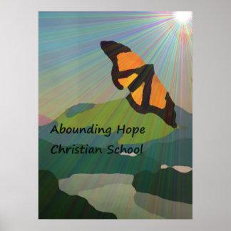 Abounding Hope Christian School Poster