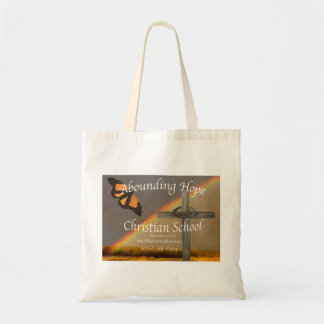 Abounding Hope Christian School Romans 15:13 Budget Tote Bag