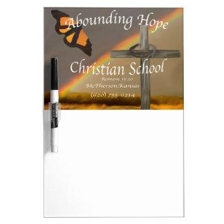 Abounding Hope Christian School Romans 15:13 Dry Erase Board