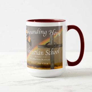 Abounding Hope Christian School Romans 15:13 Mug