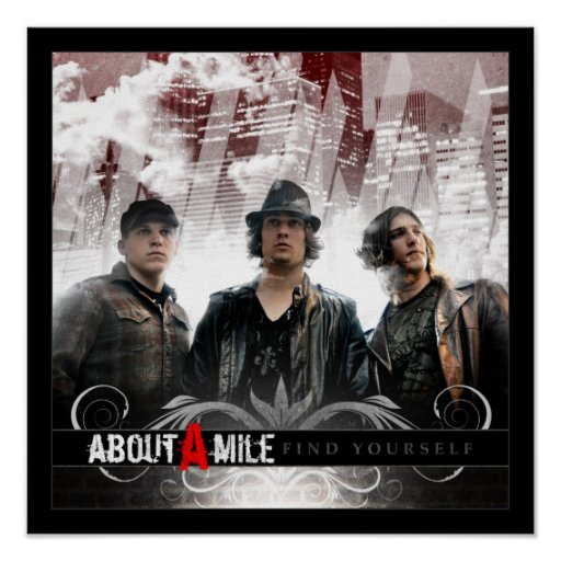 About A Mile Poster
