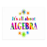 About Algebra Post Card