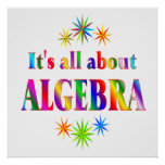 About Algebra - Starting at $11.80 Print