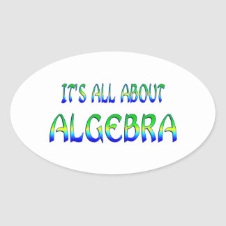 About Algebra Stickers