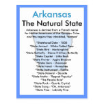 About Arkansas Postcard