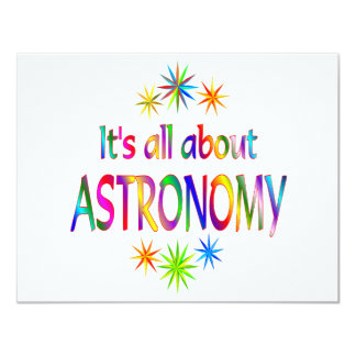 About Astronomy Invitation