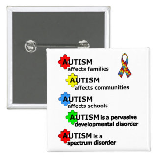 ABOUT AUTISM BUTTON