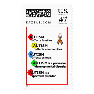 ABOUT AUTISM POSTAGE