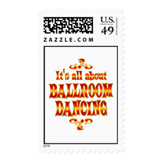 ABOUT BALLROOM DANCING STAMP