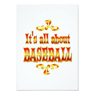 ABOUT BASEBALL CUSTOM ANNOUNCEMENTS