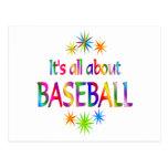 About Baseball Postcards