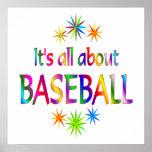 About Baseball Poster