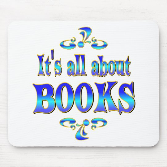 ABOUT BOOKS MOUSE PAD