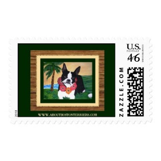 About Boston Terriers Postage Stamp 0 42
