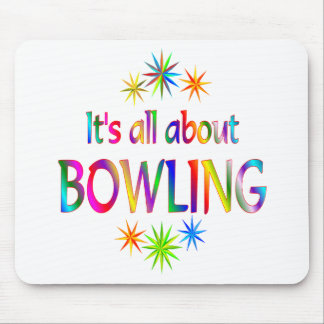 About Bowling Mouse Pad
