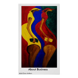 About Business Poster