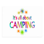 About Camping Postcards