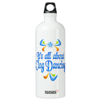 About Clog Dancing Water Bottle