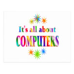 About Computers Postcard