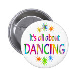 About Dancing Pinback Button