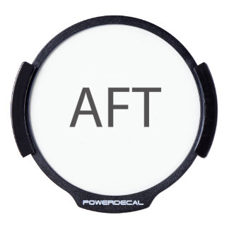 About F Time.ai LED Window Decal