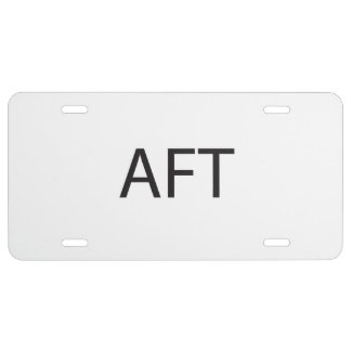 About F Time.ai License Plate