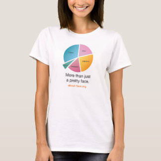 "About-Face ""Pie-Chart"" Tshirt"