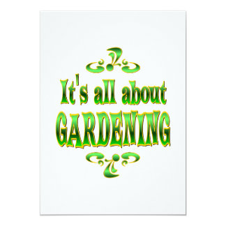 ABOUT GARDENING CARD