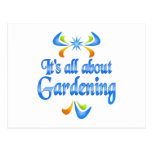 About Gardening Postcard