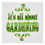 ABOUT GARDENING POSTERS