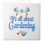 About Gardening Tiles