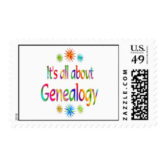 About Genealogy Postage