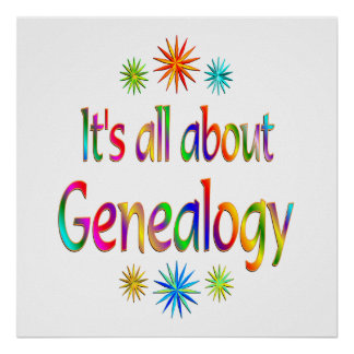 About Genealogy Print