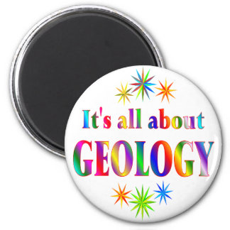About Geology Refrigerator Magnet