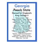 georgia, state, united, states, usa, symbols,