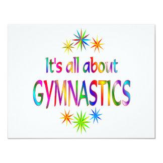 About Gymnastics Card