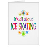 About Ice Skating Card