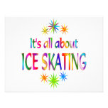 About Ice Skating Custom Invite