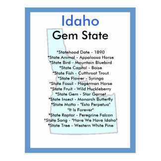 About Idaho Postcards