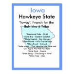 About Iowa Postcard