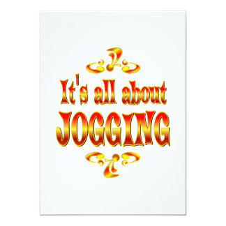 ABOUT JOGGING CARD