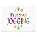 About Jogging Personalized Invitations
