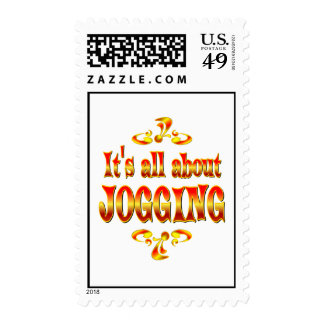 ABOUT JOGGING POSTAGE STAMPS