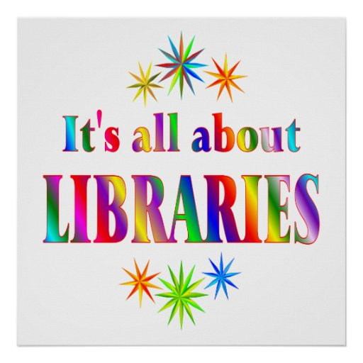 About Libraries Poster