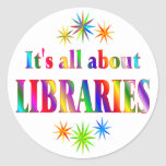 About Libraries Stickers